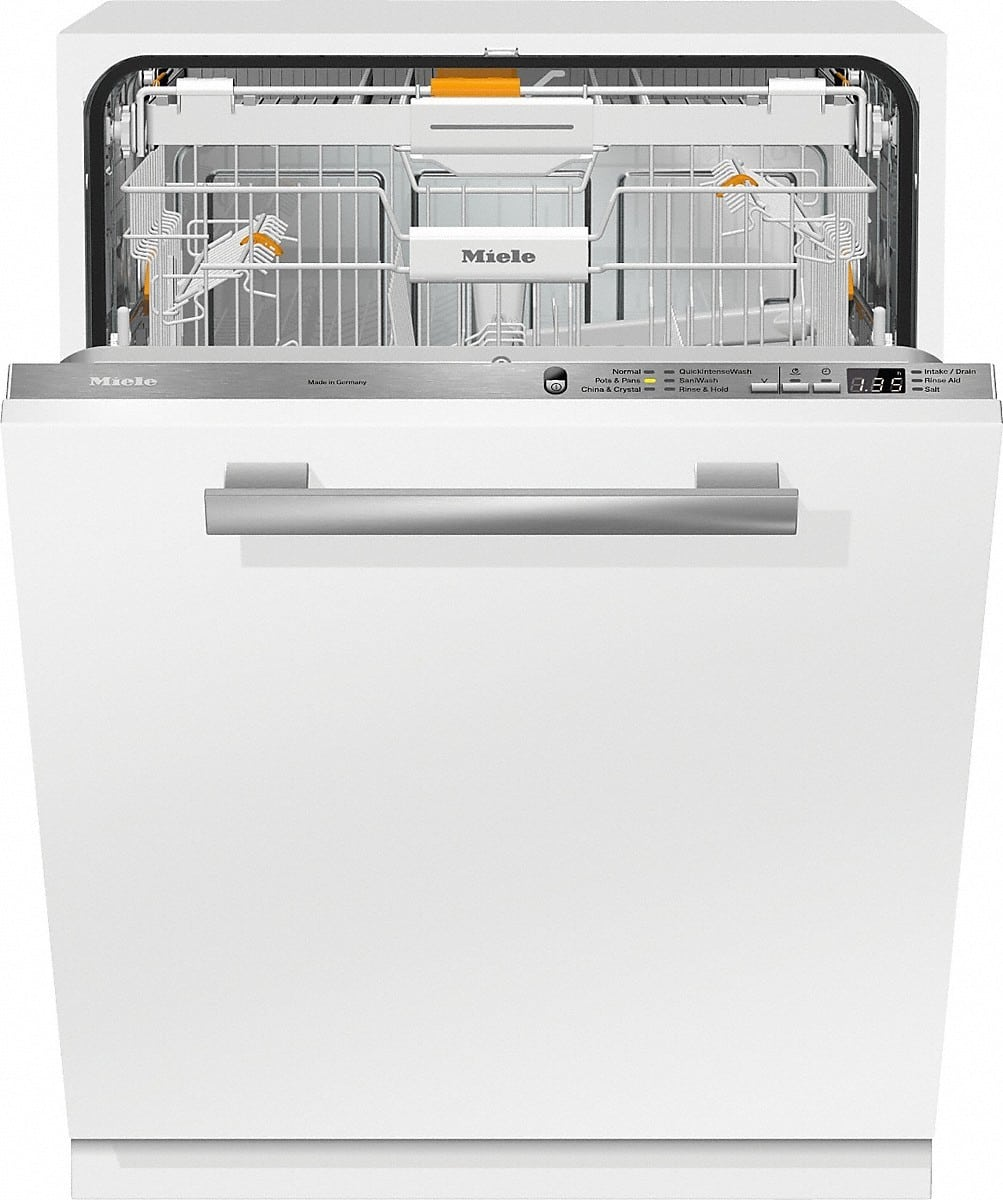 Miele G6665scvi Fully Integrated Dishwasher With Cutlery Tray Autoopen Drying Perfect Glcare Quickintensewash Autosensor Technology Water