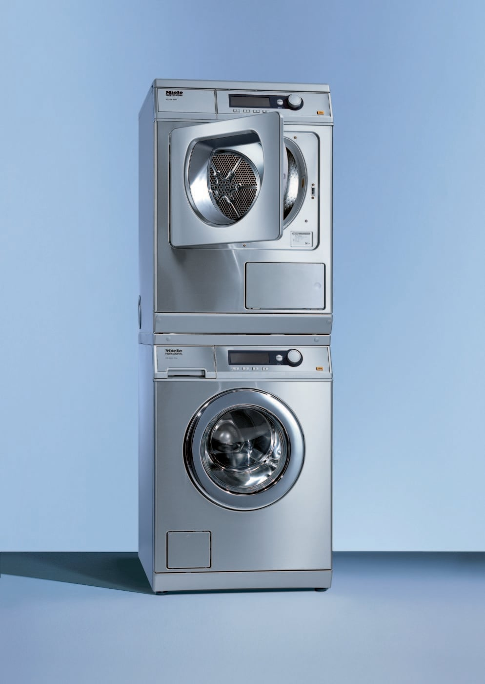 Miele Miwadress3 Stacked Washer Amp Dryer Set With Front