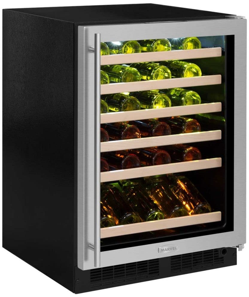 Infinity Wine Coolers: Marvel ML24WSG3RS 24 Inch Built-In Single Zone Wine