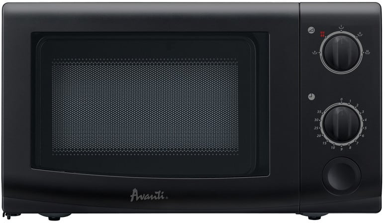 Avanti Mo7221mb 0 7 Cu Ft Countertop Microwave Oven With