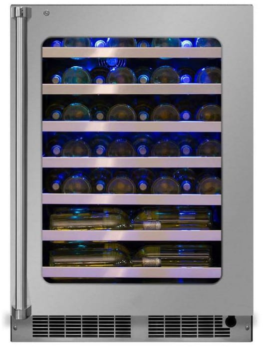 Marvel Mp24wsg5rs 24 Inch Counter Depth Wine Cooler With
