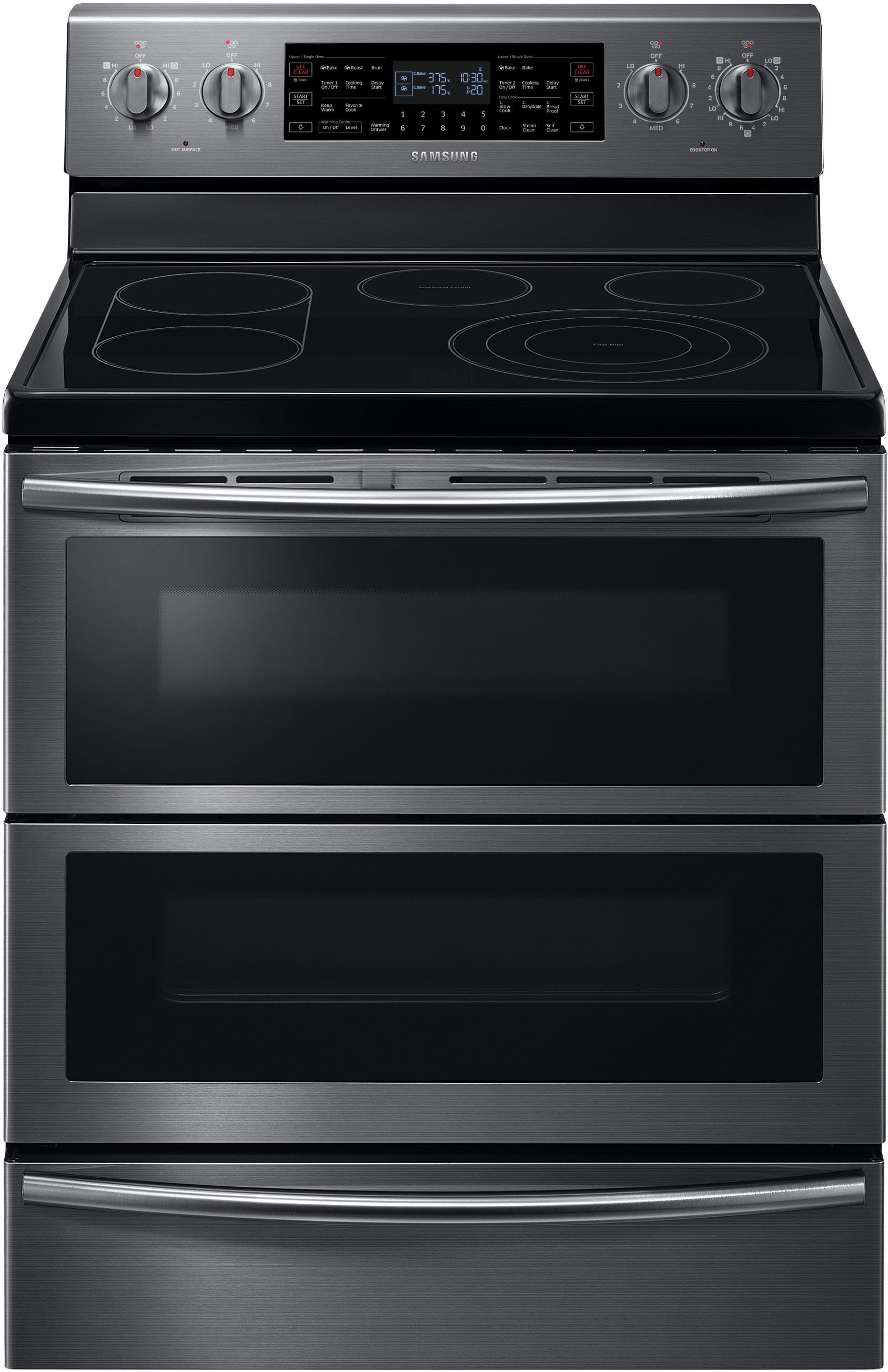 Samsung NE59J7850WG 30 Inch Freestanding Electric Range with 5 9 cu