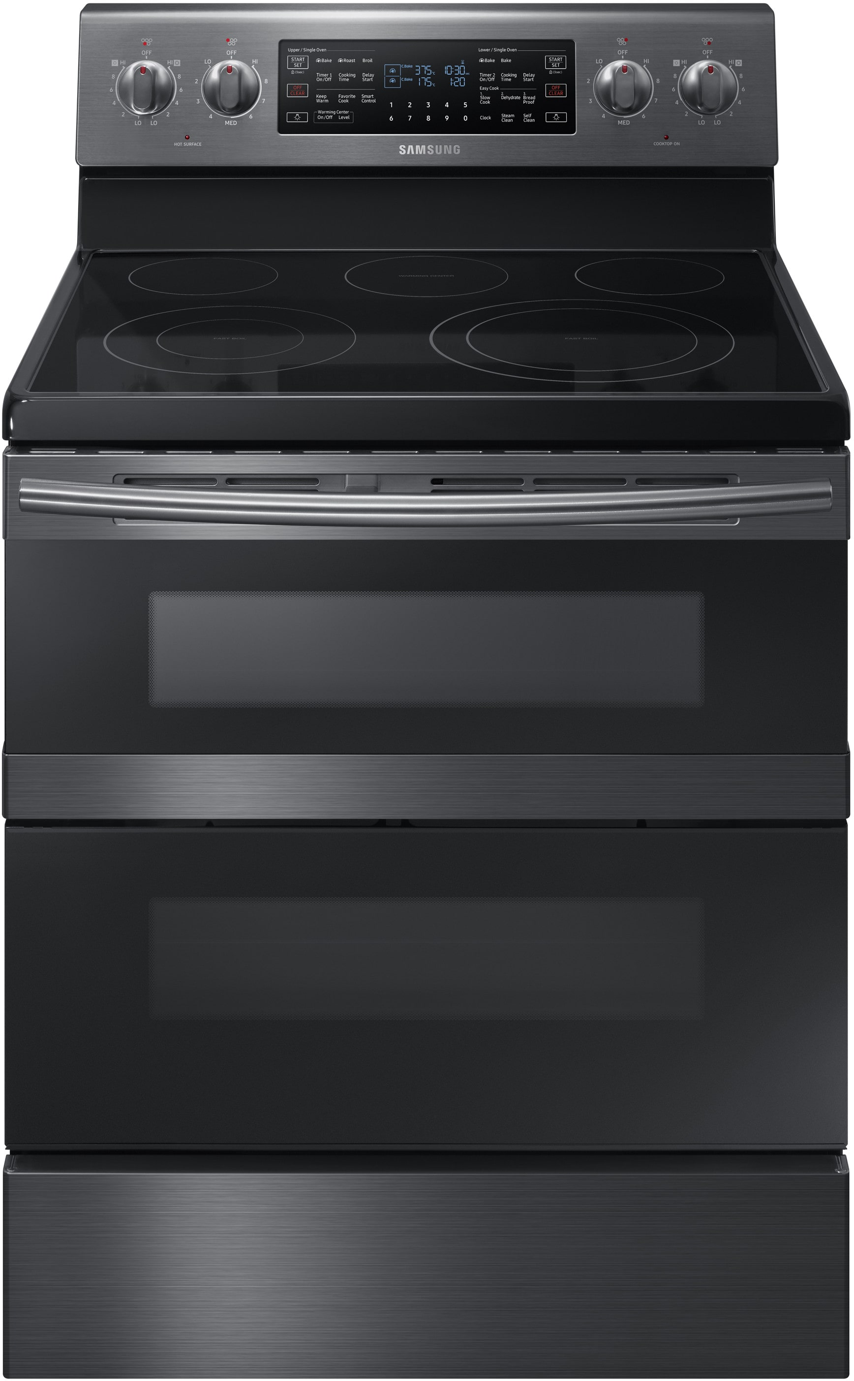 samsung ne59m6850sg 30 inch freestanding electric range with dual convection flex duo wi fi. Black Bedroom Furniture Sets. Home Design Ideas