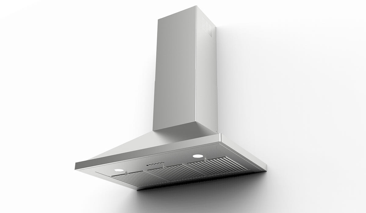 Faber Nopr36ss600 36 Inch Nova Pro Chimney Wall Hood With