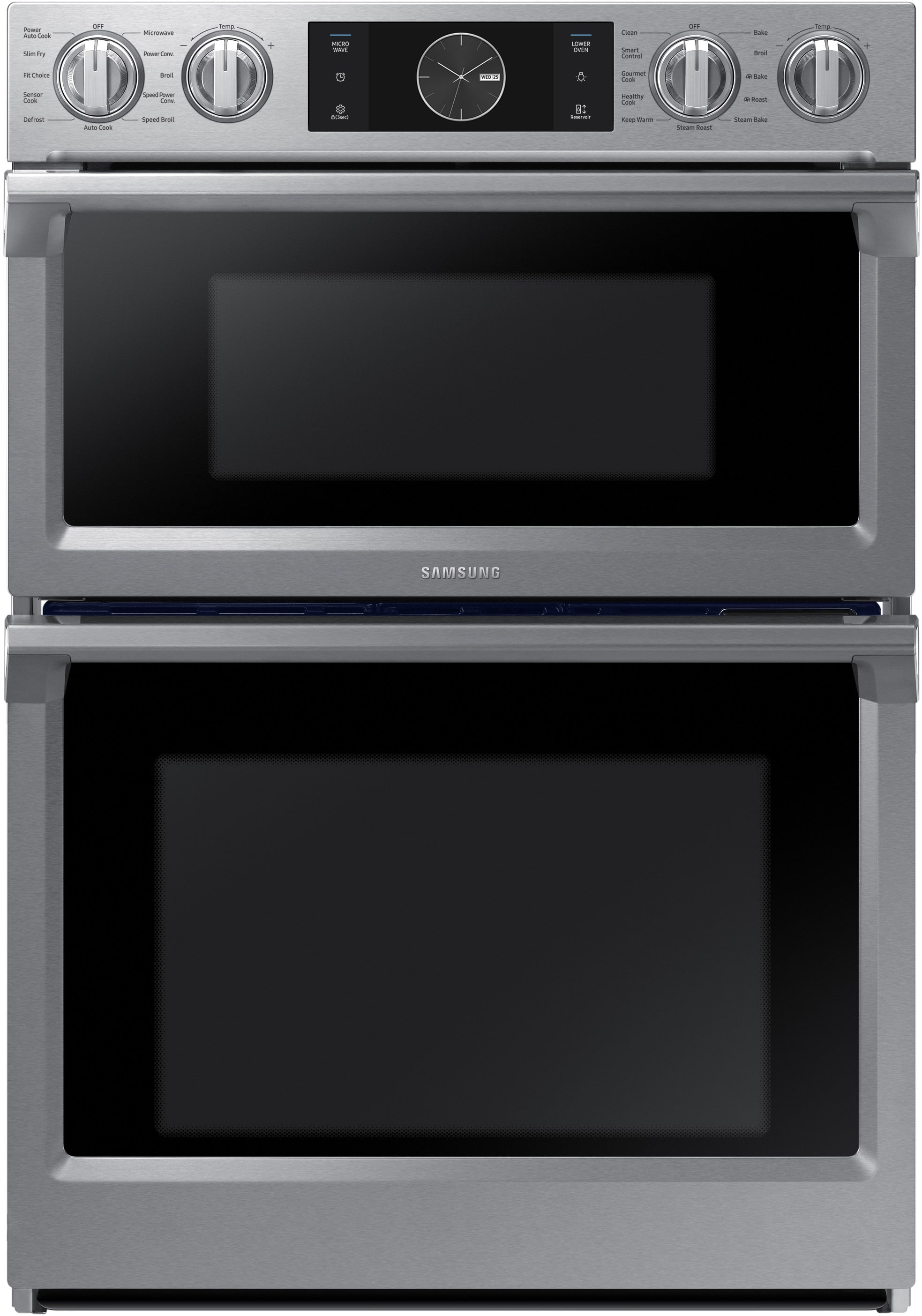 Samsung Nq70m7770ds 30 Inch Combination Electric Wall Oven