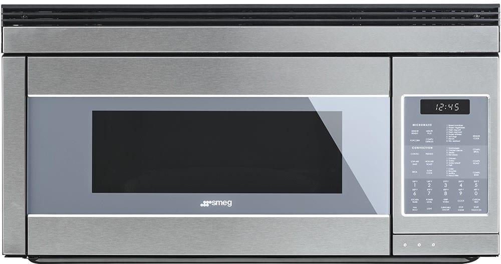 Smeg Otr111su 30 Inch Over The Range Microwave With Sensor Cook