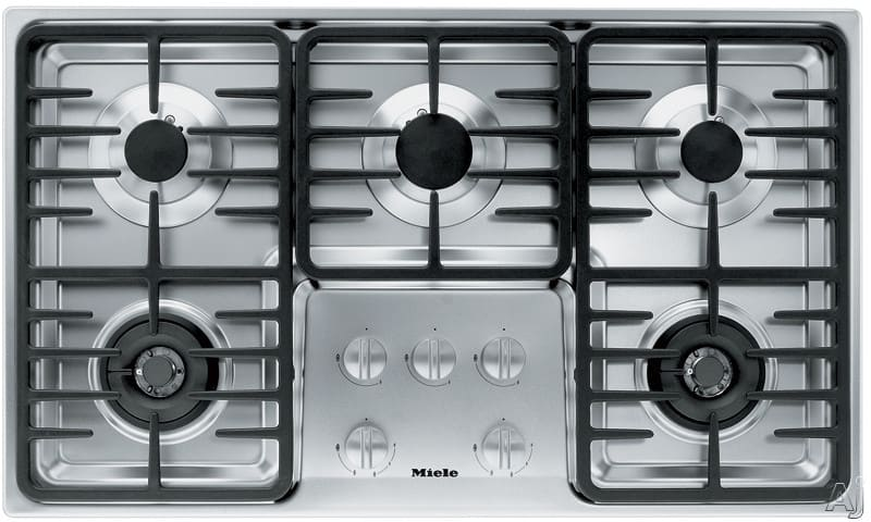 Miele Km3475lpss 36 Inch Stainless Steel Gas Cooktop With