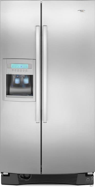 Whirlpool Gs5vhaxwy 25 6 Cu Ft Side By Side Refrigerator