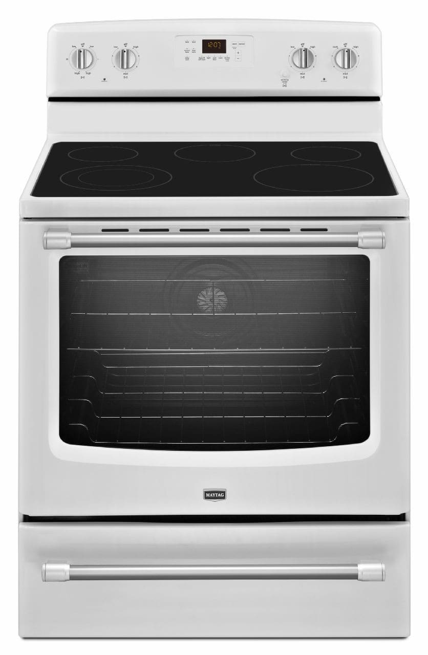 Maytag Mer8700dh 30 Inch Freestanding Electric Range With