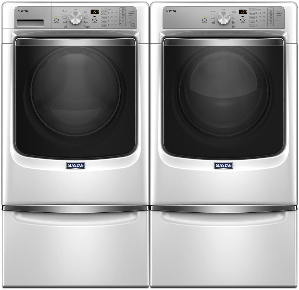 Maytag Mawadrgw2 Side By Side On Pedestals Washer Amp Dryer
