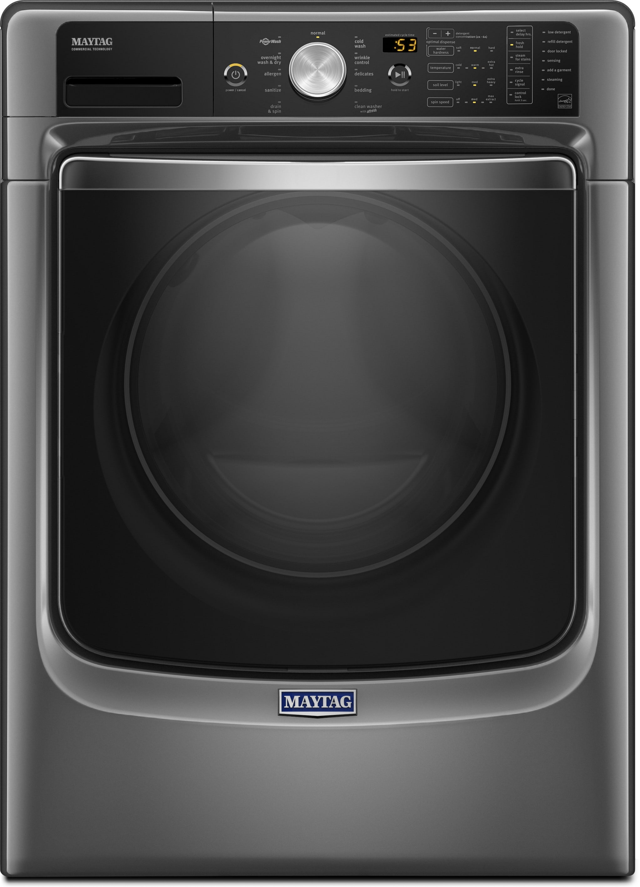 Maytag Mhw8200fc 27 Inch 4 6 Cu Ft Front Load Washer