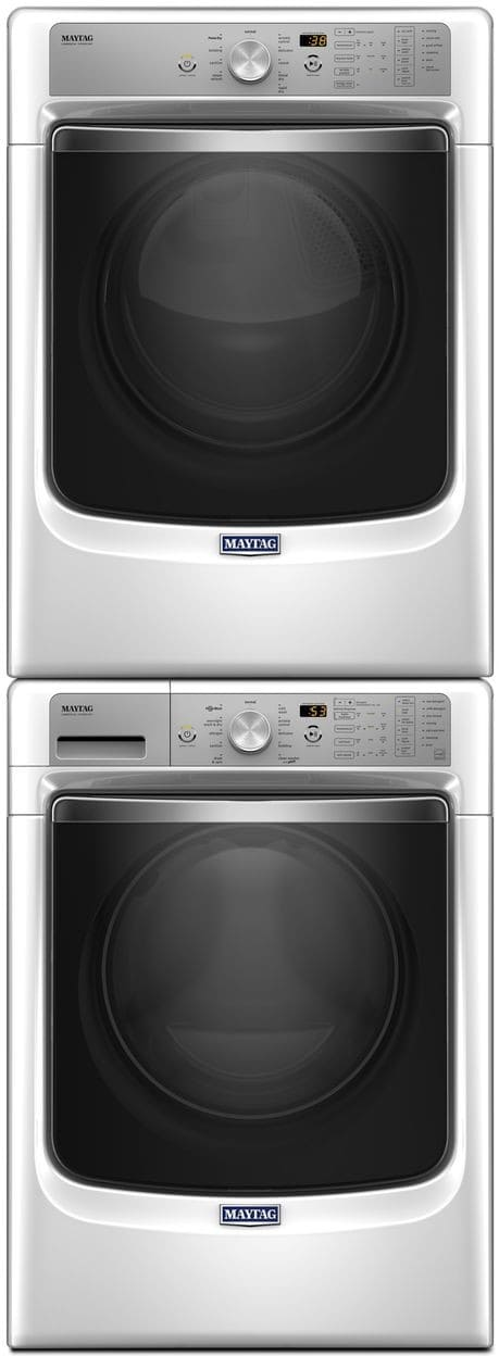 Maytag Mawadrgw3 Stacked Washer Amp Dryer Set With Front
