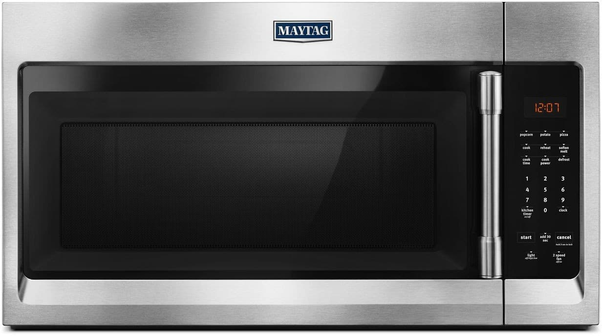 Maytag Mmv1174fz 1 7 Cu Ft Over The Range Microwave With