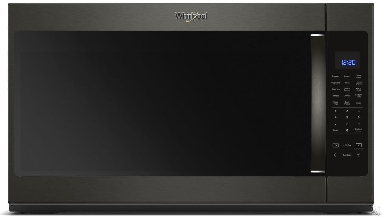 Whirlpool Wmh53521hv 2 1 Cu Ft Over The Range Microwave With Sensor Cook Steam Cook