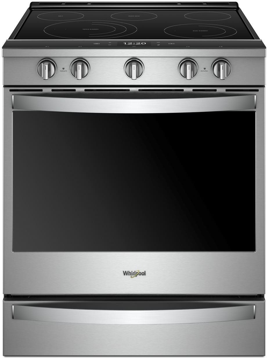 Whirlpool Wee750h0hz 30 Inch Slide In Electric Range With