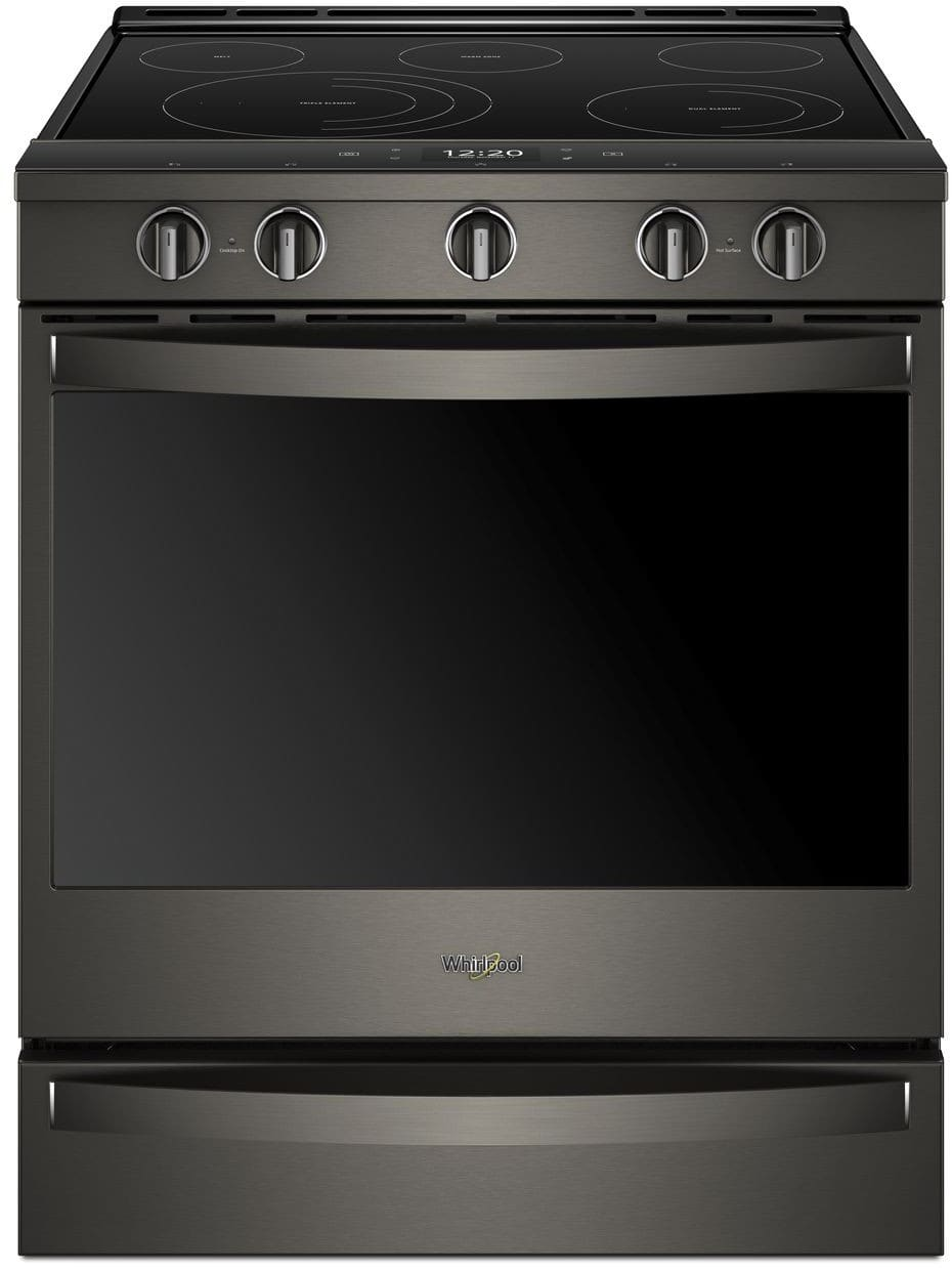 Whirlpool Wee750h0hv 30 Inch Slide In Electric Range With
