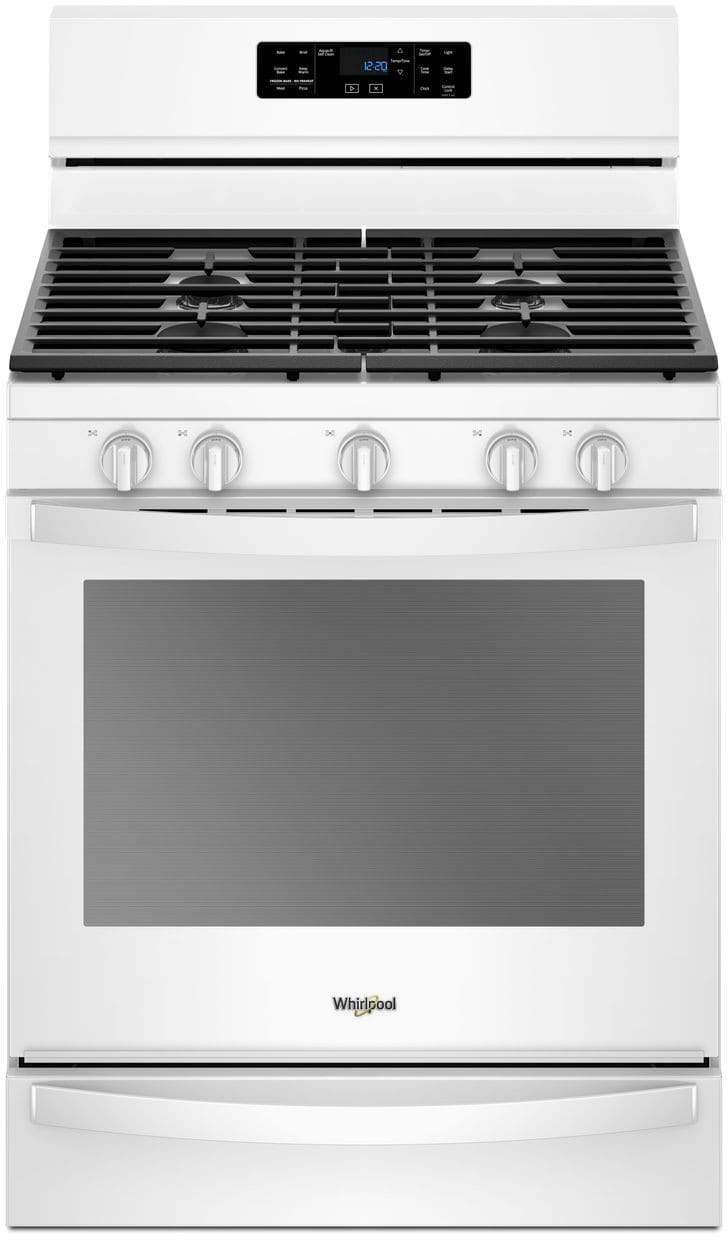 Whirlpool Wfg775h0hw 30 Inch Freestanding Gas Range With