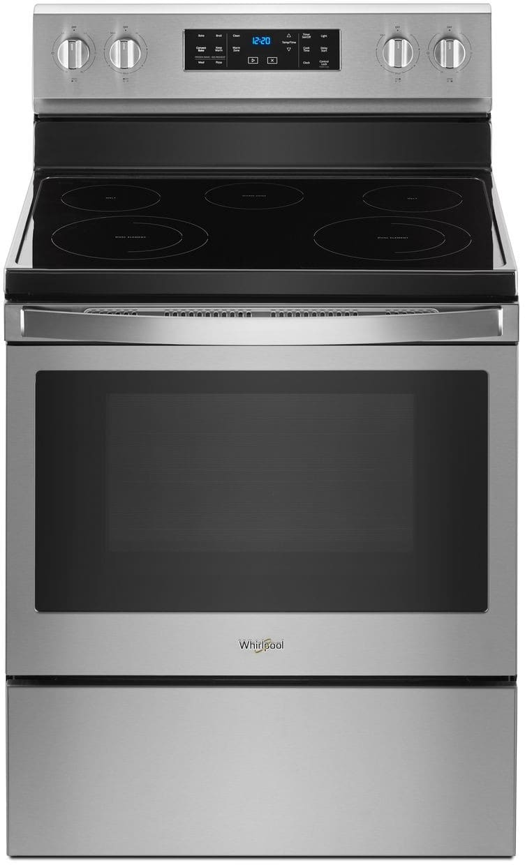 Whirlpool Wfe550s0hz 30 Inch Freestanding Electric Range