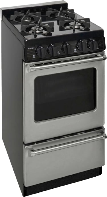 Premier P20s3102ps 20 Inch Gas Range With 4 Sealed Burners