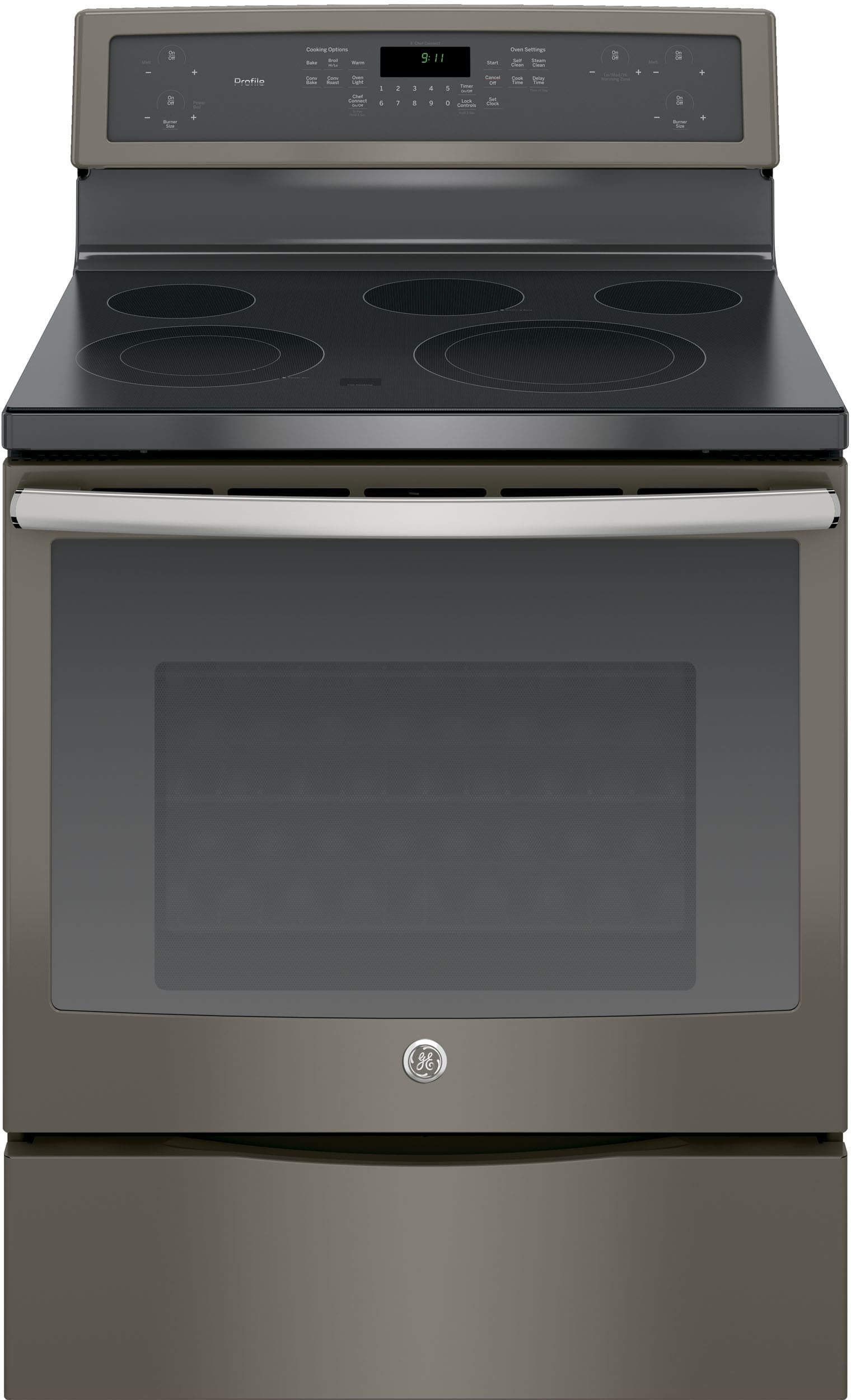 GE PB911EJES 30 Inch Freestanding Electric Range with True Convection, Chef  Connect, Fast Preheat, Power Boil Element, Variable Element, Warming Zone,  ...