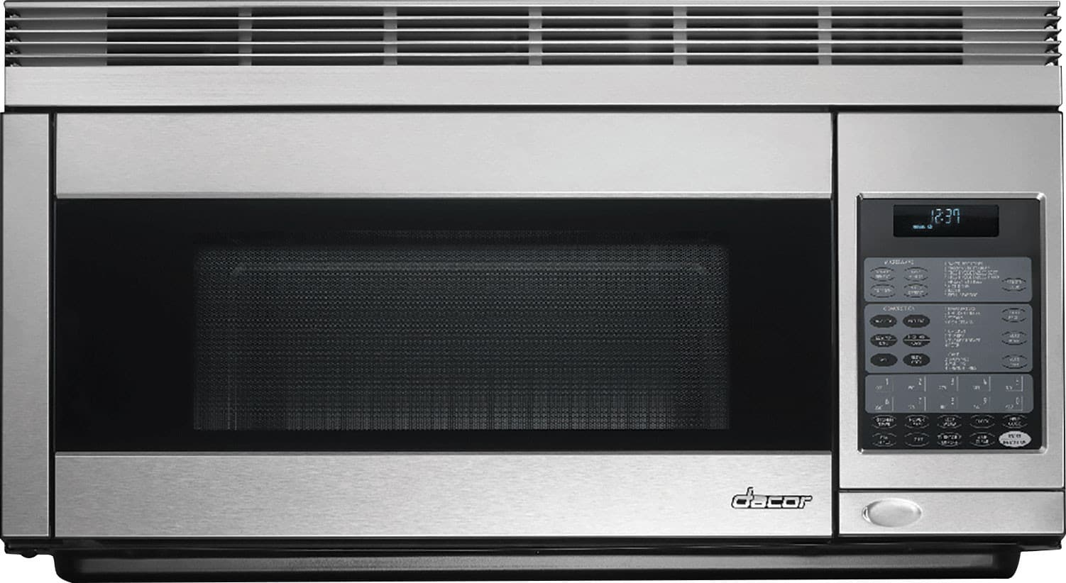 Dacor pcor30s 1 1 cu ft over the range convection - How to vent a microwave on an interior wall ...