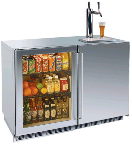 Perlick Signature Series Hp48rtb 48 In Built Refrigerator Beer Dispenser