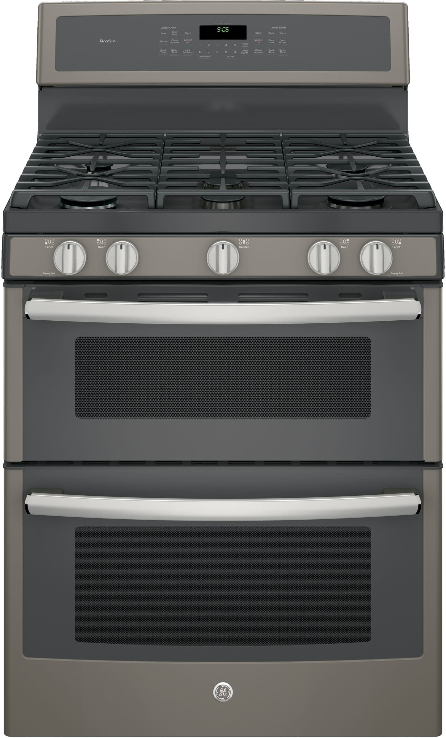Ge Pgb960eejes 30 Inch Freestanding Double Oven Gas Range With Convection Chef