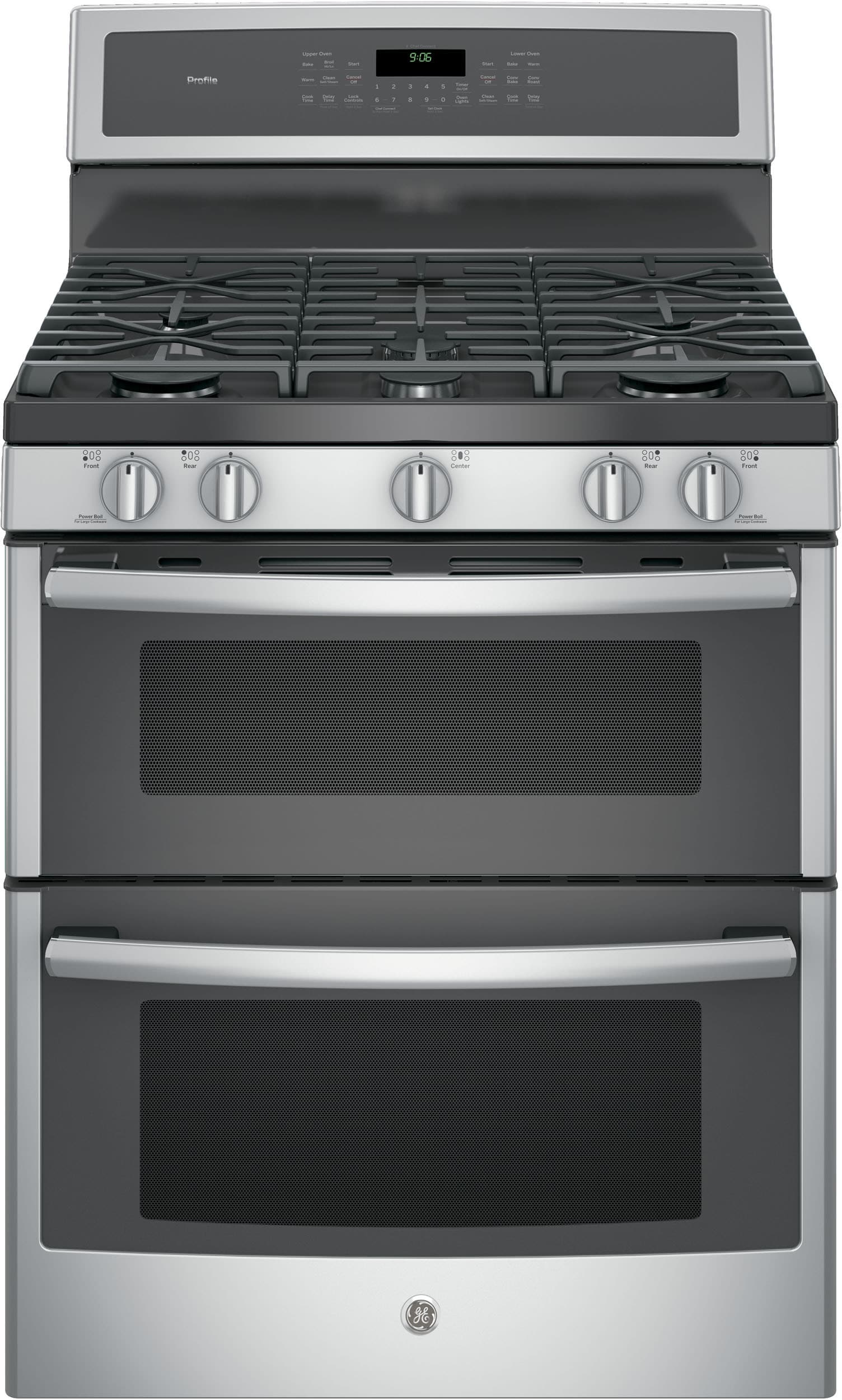 Ge Pgb960sejss 30 Inch Freestanding Double Oven Gas Range