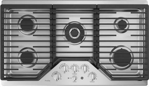 Ge Pgp9036slss 36 Inch Gas Cooktop With Control Lock