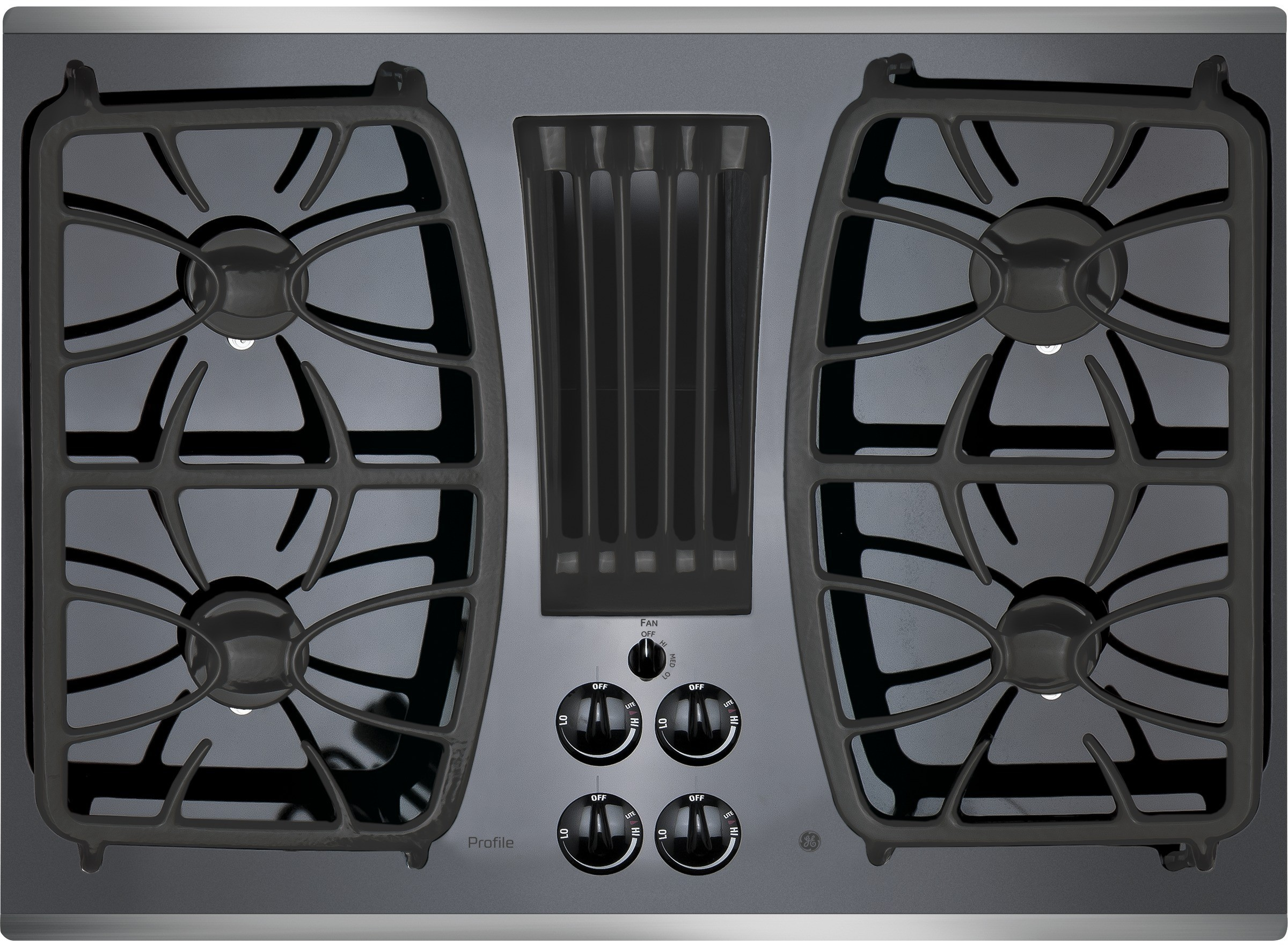Ge Pgp9830sjss 30 Inch Gas Cooktop With 4 Sealed Burners