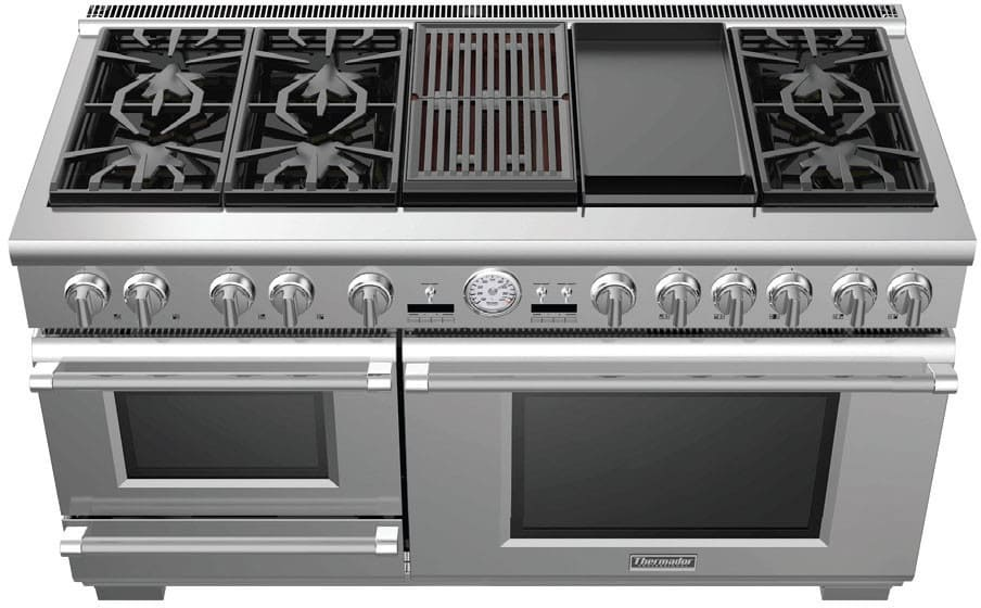 Thermador Prd606rcsg 60 Inch Dual Fuel Range With 6 Sealed