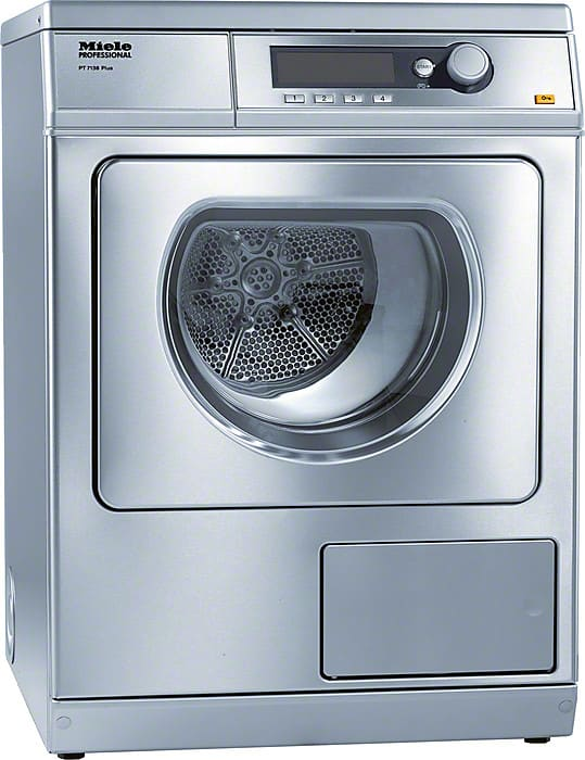Miele Pt7138ss 24 Inch Commercial Electric Dryer With 15