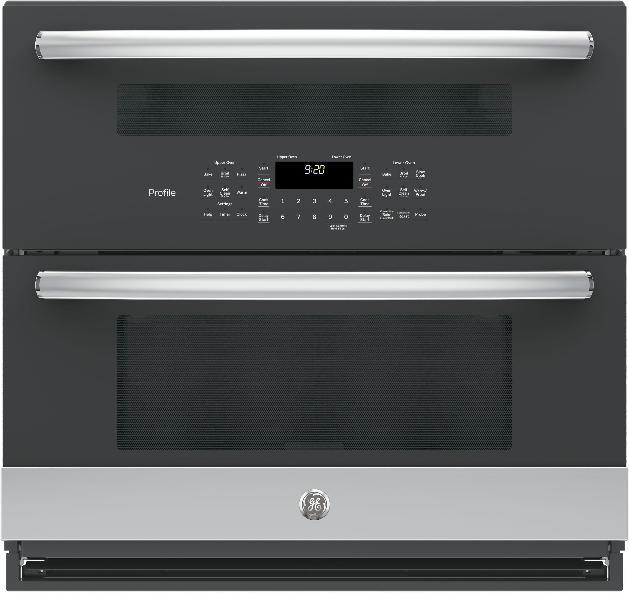 Ge Pt9200slss Built In Single Double Electric Wall Oven