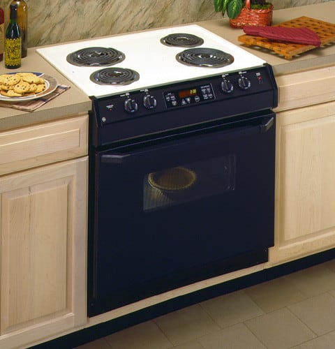 Ge Jds26bwwh 30 Inch Drop In Electric Range With Standard