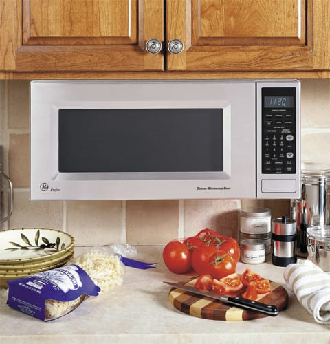 Ge Jem31sf 1 0 Cu Ft Over The Countertop Microwave Oven
