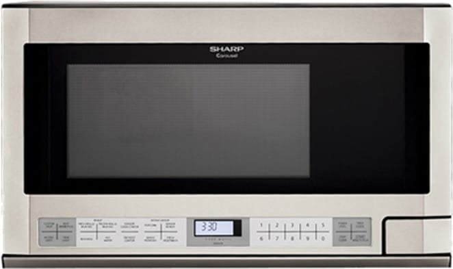 Sharp R1214ty 24 Inch Over The Counter Microwave With