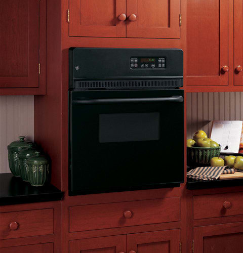 Ge Jrp20bjbb 24 Inch Single Electric Wall Oven With 2 7 Cu