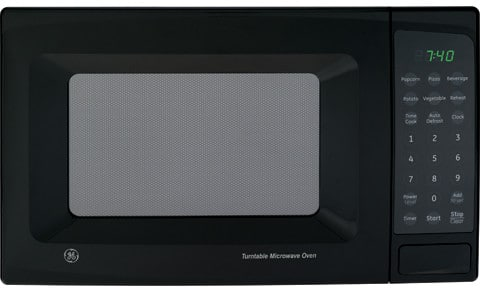 Countertop Microwave No Turntable : ... ft. Countertop Microwave Oven with 700 Cooking Watts & Glass Turntable