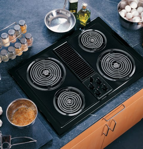 Ge Jp389bjbb 30 Inch Electric Modular Downdraft Cooktop