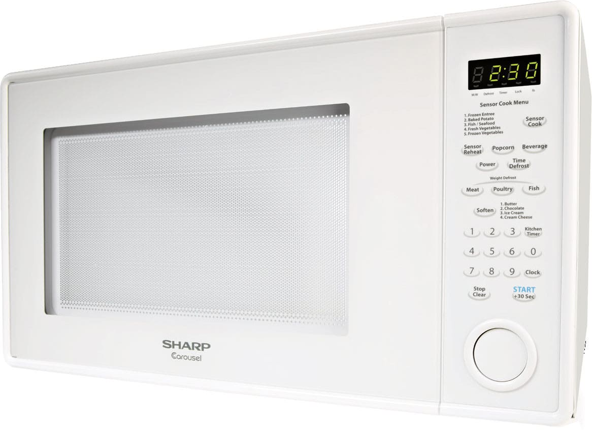 Sharp R559yw 1 8 Cu Ft Countertop Microwave Oven With
