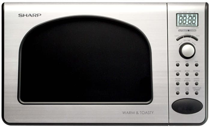 Sharp R55ts 0 5 Cu Ft Compact Microwave Oven With 650