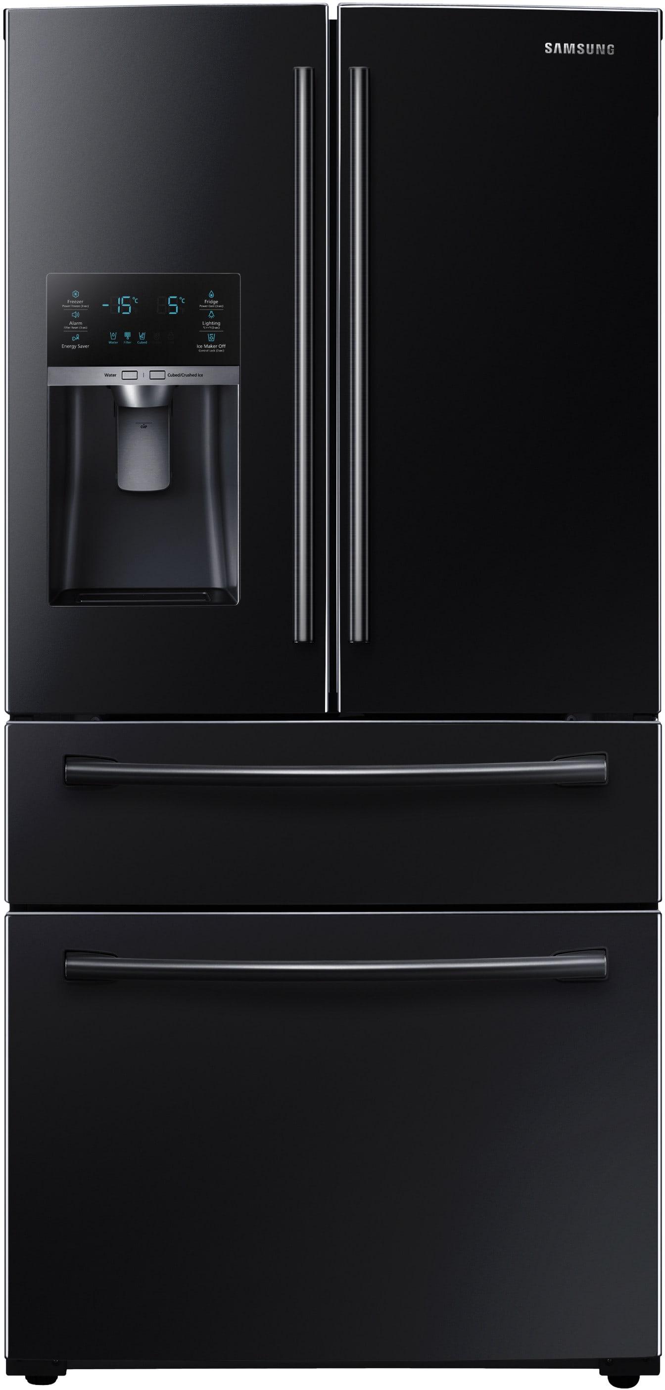 Rf28hmedbbc Samsung Black 36 Quot French Door Refrigerator W