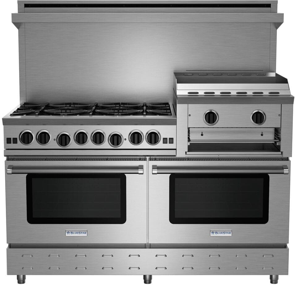 Bluestar Rnb606ghcv2ng 60 Inch Gas Range With 6 Open