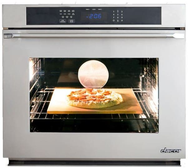 dacor rno127c208v 27 inch single electric wall oven with 4