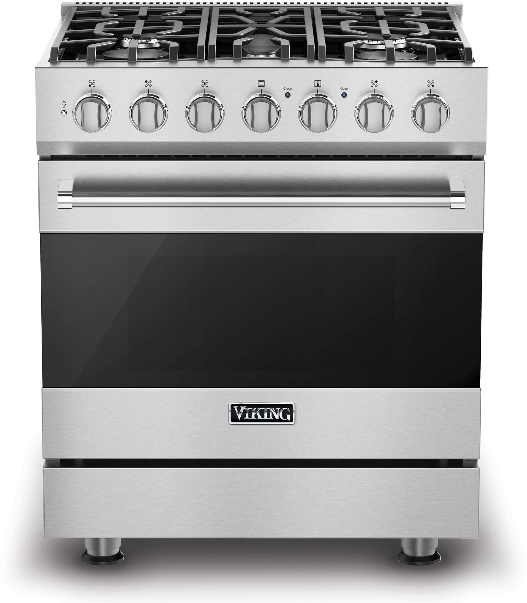 Viking Rvgr33025bss 30 Inch Freestanding Gas Range With 5