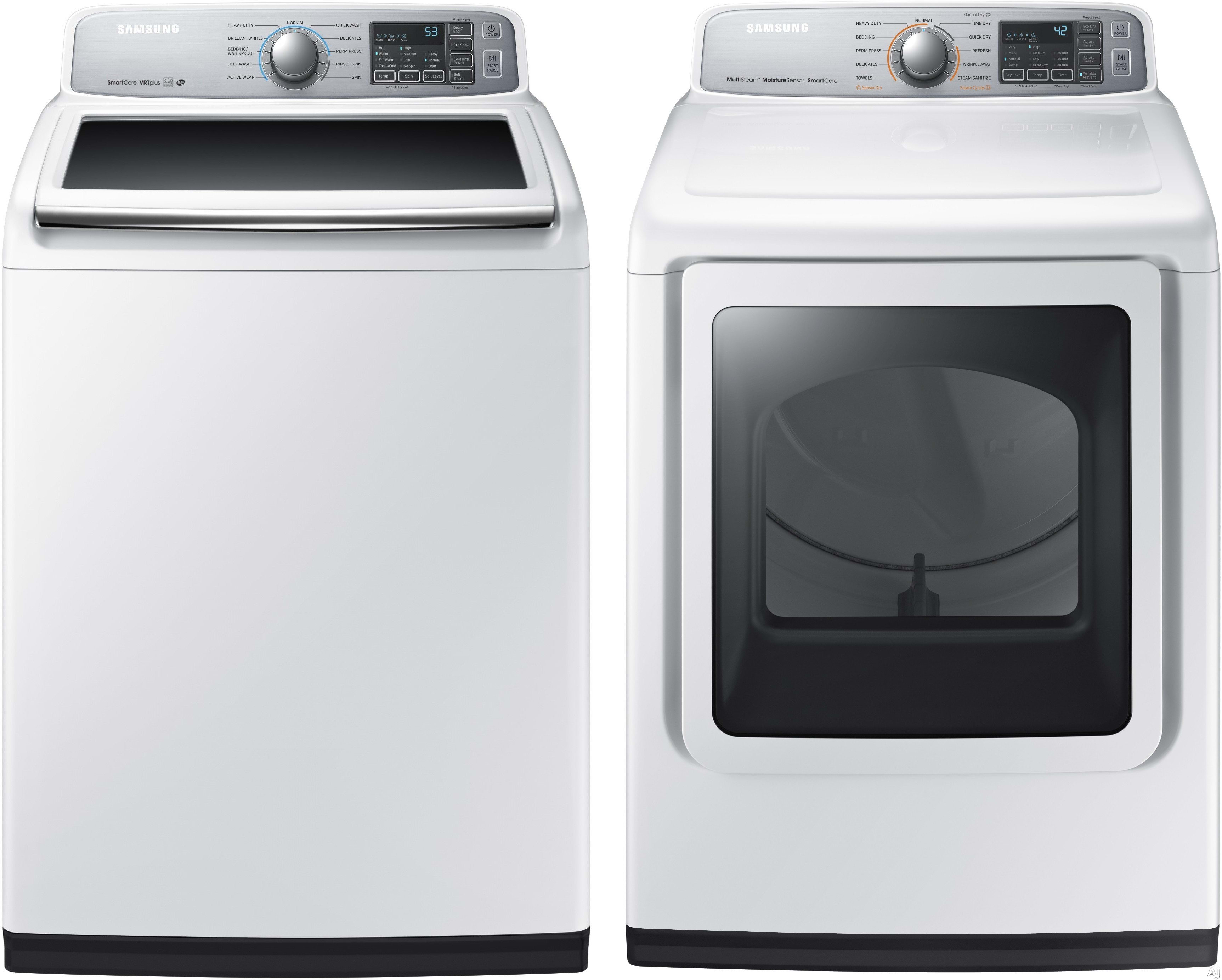 Samsung Sawadrew5 Washer Amp Dryer Set With Top Load Washer