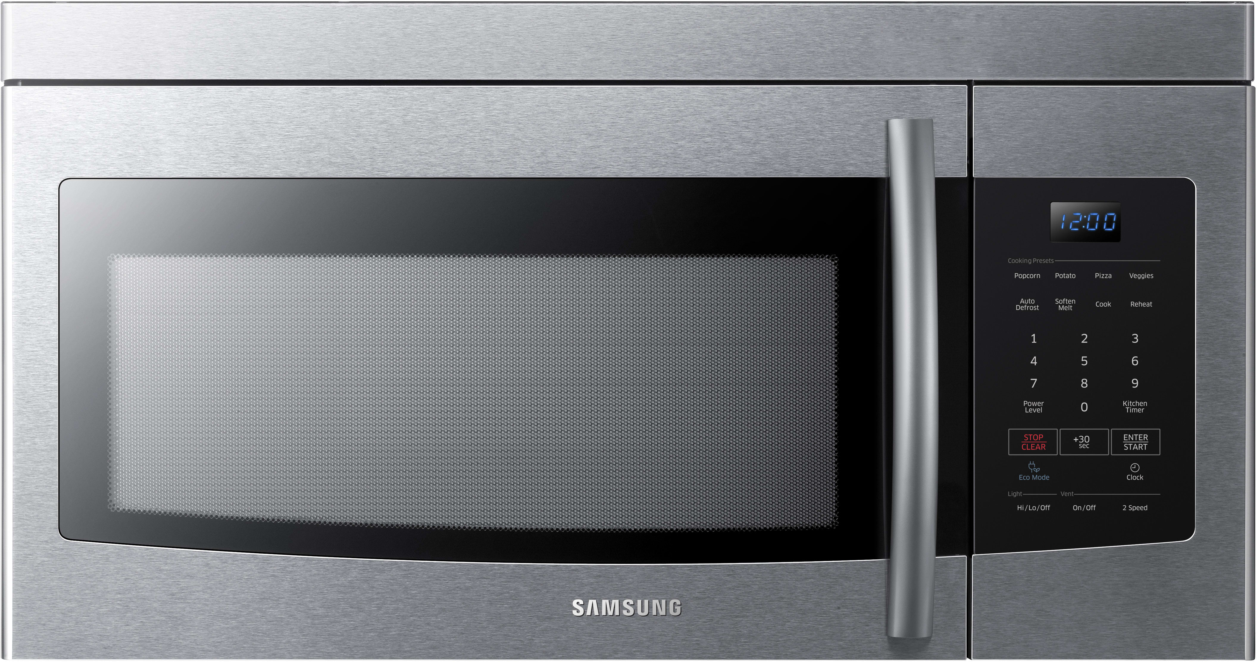 Samsung Me16k3000as 1 6 Cu Ft Over The Range Microwave