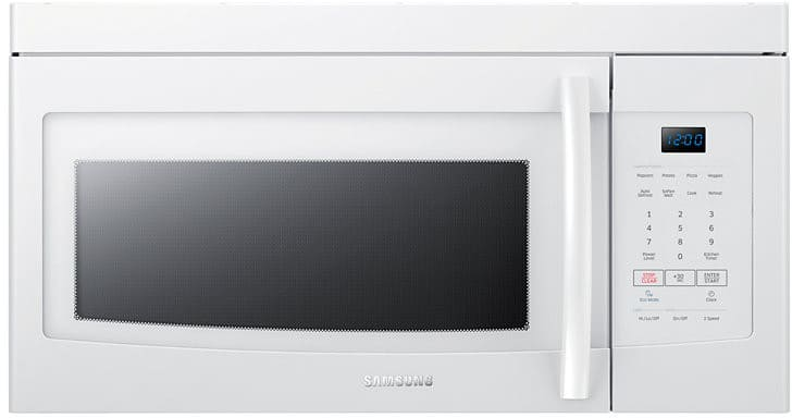 Samsung Me16k3000aw 1 6 Cu Ft Over The Range Microwave