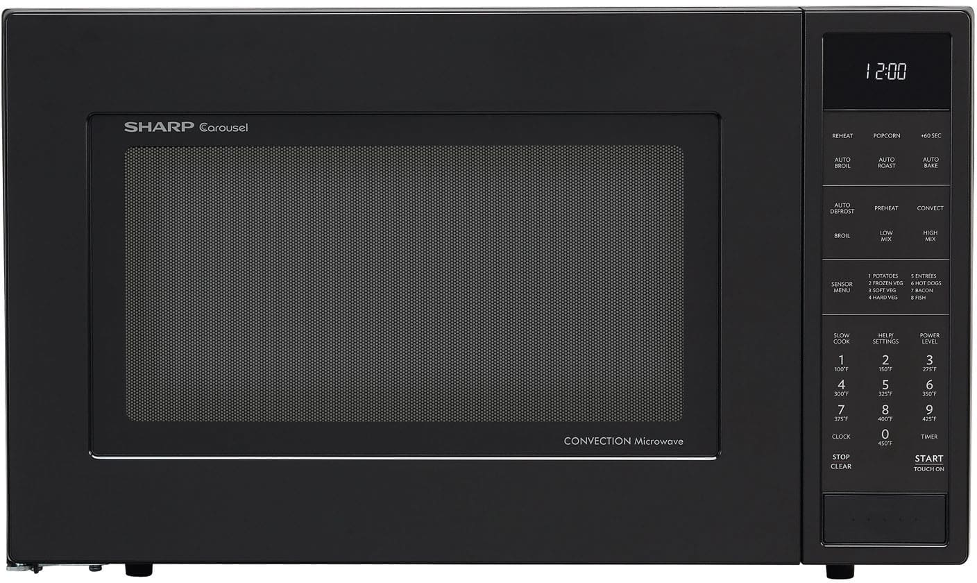 Sharp Smc1585bb 1 5 Cu Ft Countertop Microwave Oven With