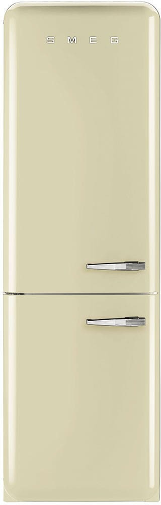 Smeg 50u0027s Retro Design FAB32UCRLN   Cream 50u0027s Retro Style Bottom Freezer  Refrigerator, Right Hinge ...